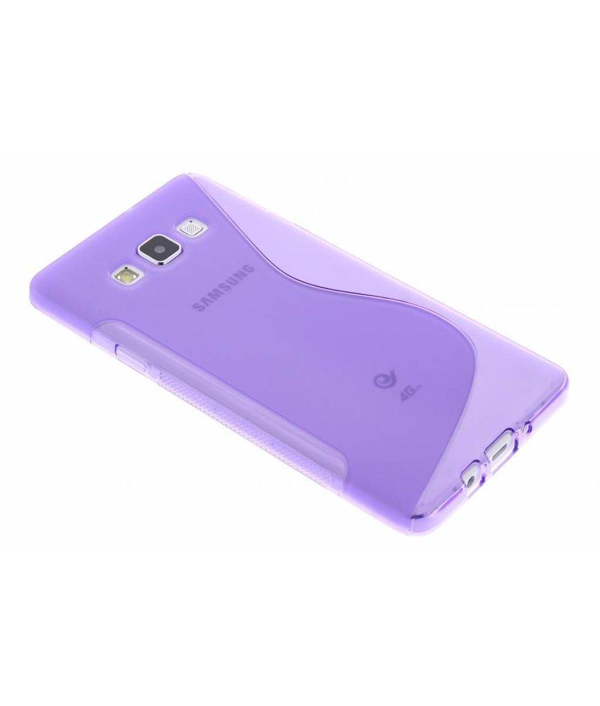 Paars S-line TPU hoesje Samsung Galaxy A7
