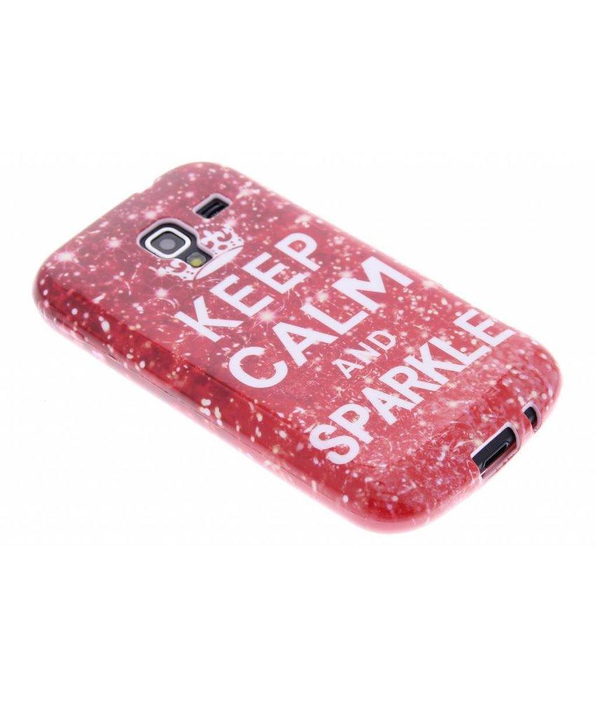 Design TPU siliconen hoesje Samsung Galaxy Ace 2