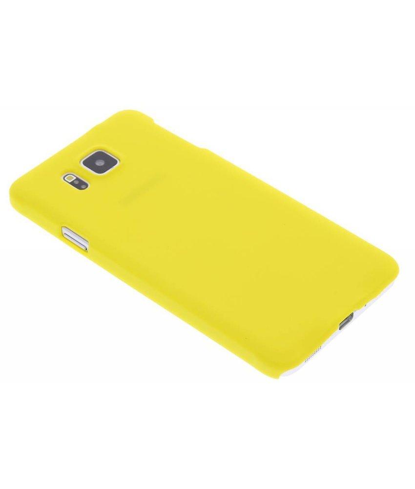 Geel effen hardcase Samsung Galaxy Alpha