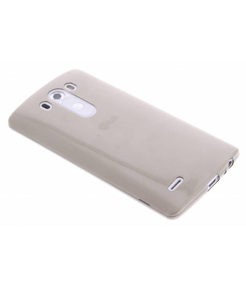 Grijs ultra thin transparant TPU hoesje LG G3