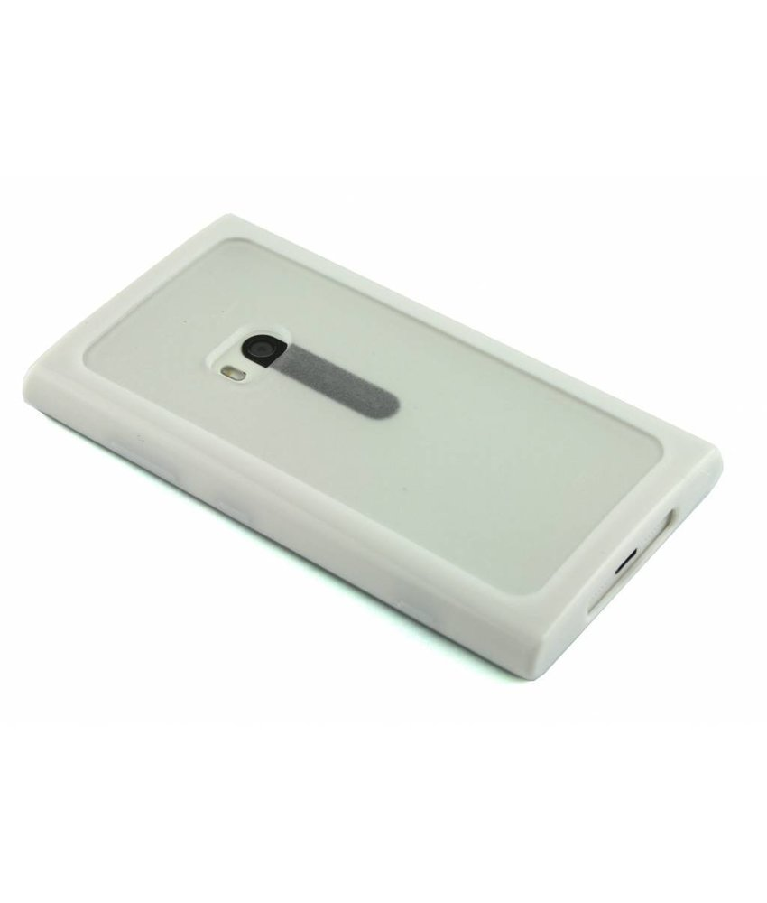 Wit hardcase met TPU rand Nokia Lumia 920