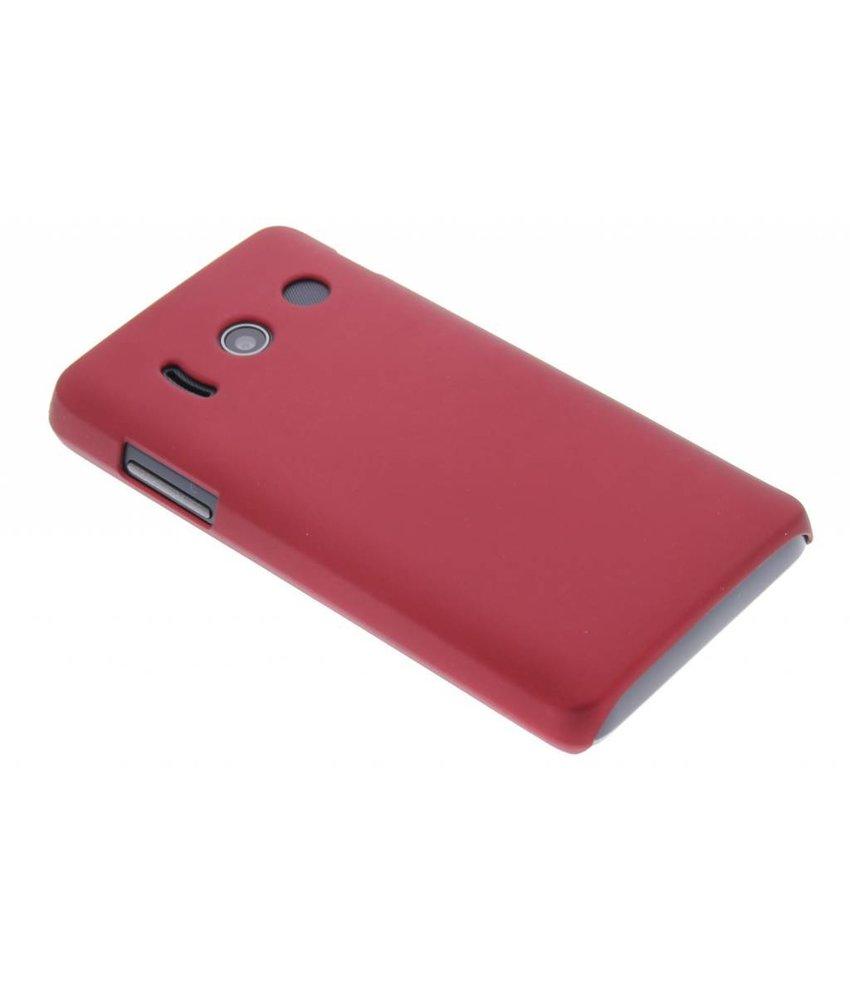 Rood effen hardcase hoesje Huawei Ascend Y300