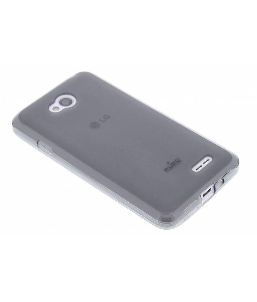 Puro Silicon Case LG L70 / L65 - zwart