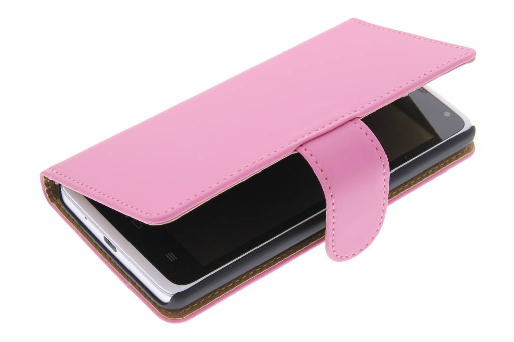 Cas Rose De Type Livre Simple Pour Huawei Ascend Y530 HjpRi7uy