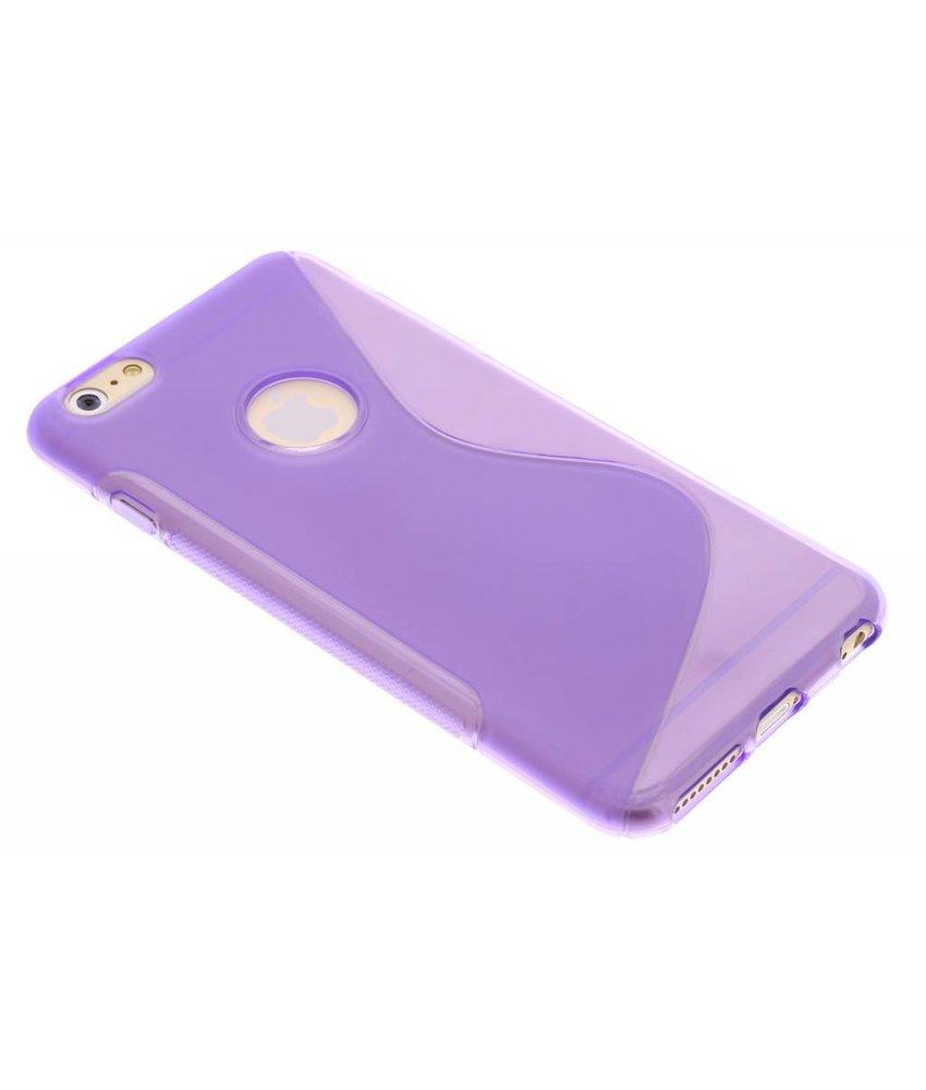 Paars S-line TPU hoesje iPhone 6(s) Plus