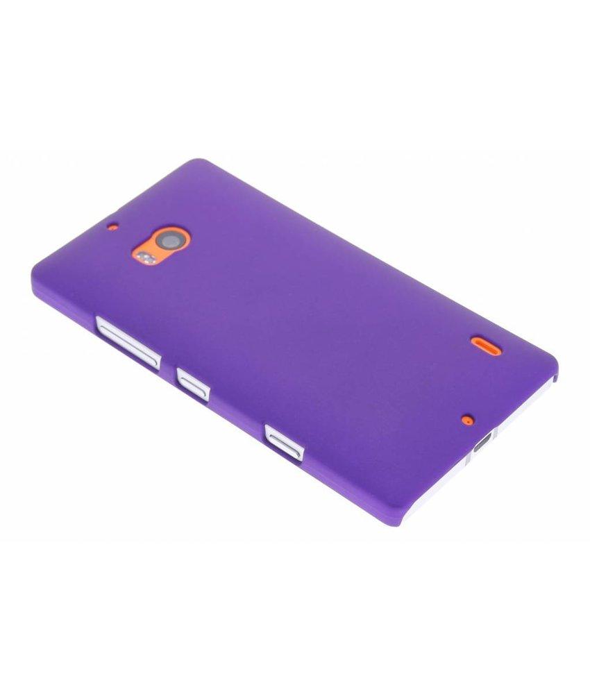 Paars effen hardcase hoesje Nokia Lumia 930