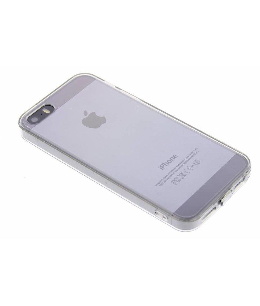 Transparant TPU hardcase hoesje iPhone 5 / 5s / SE