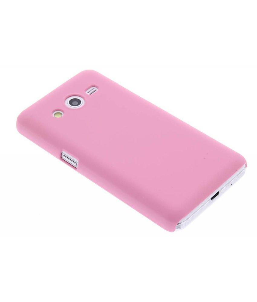 Roze effen hardcase hoesje Samsung Galaxy Core 2