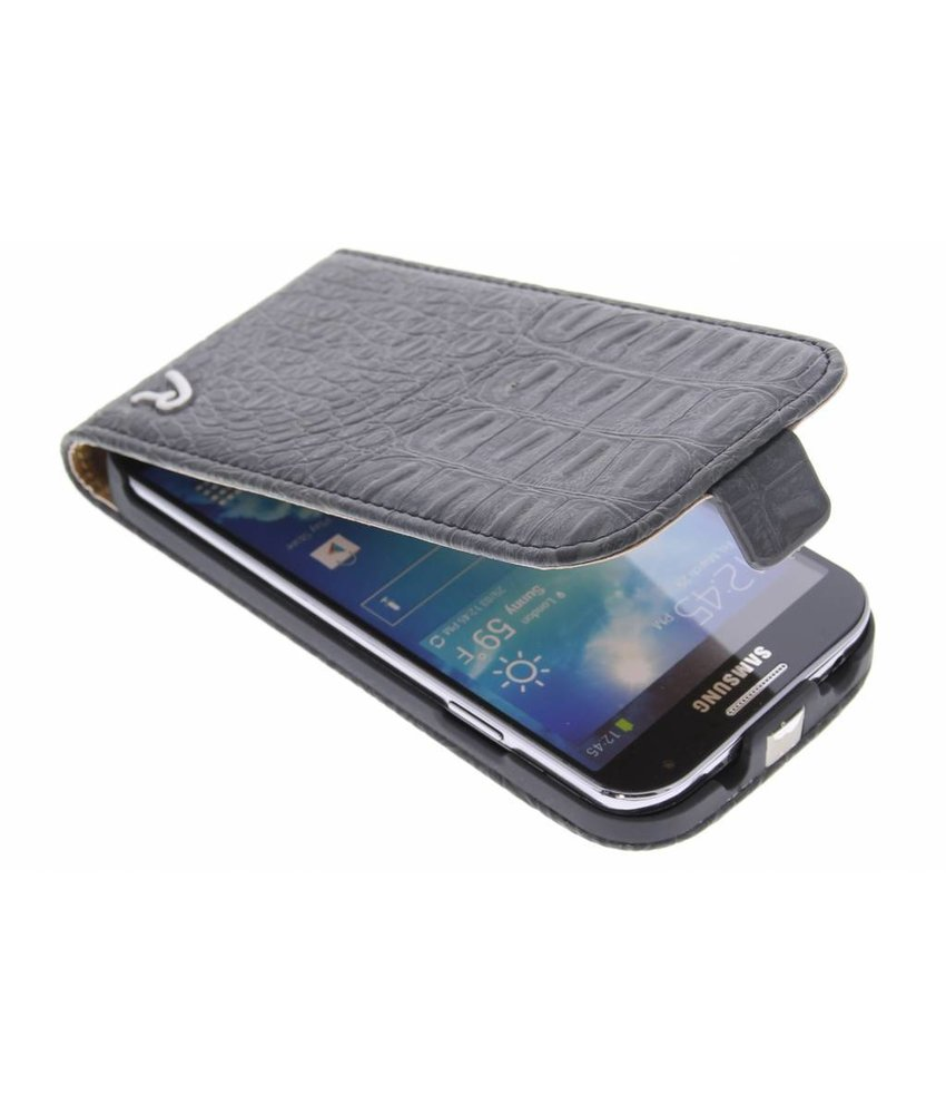 Replay Flip Case Croco Black Samsung Galaxy S4
