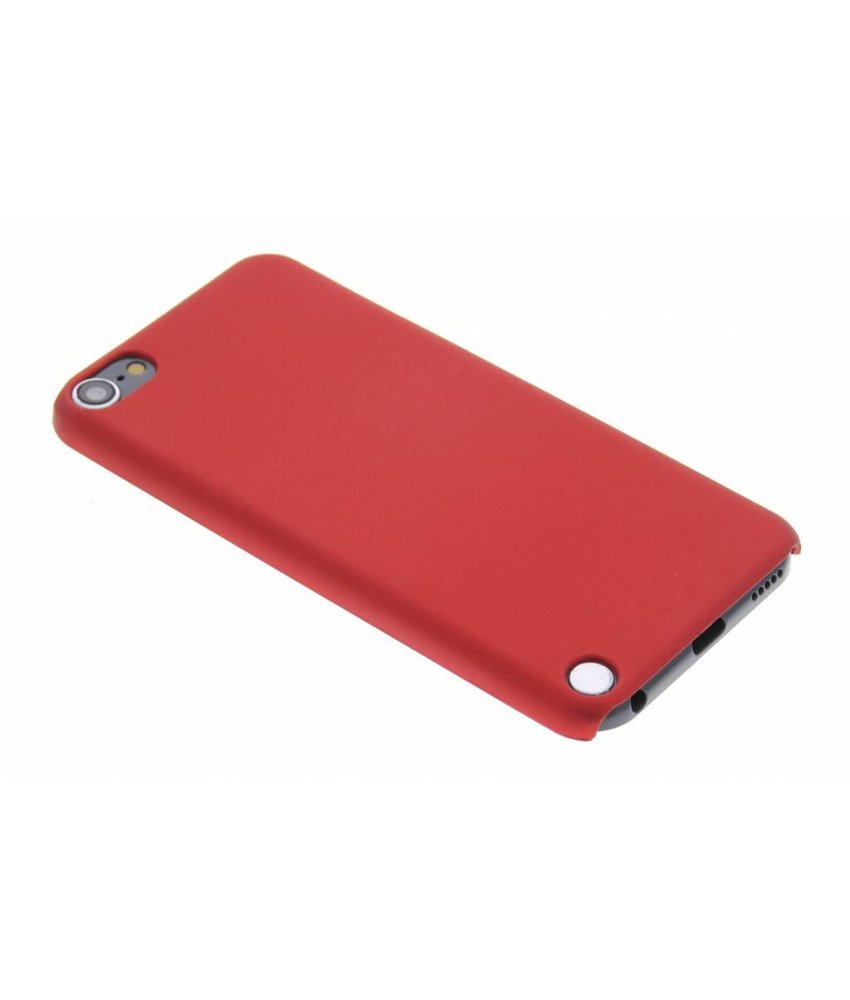 Rood effen hardcase iPod Touch 5g / 6