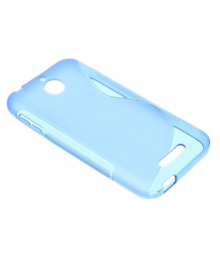 Blauw S-line TPU hoesje HTC Desire 510