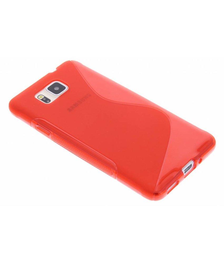 Rood S-line TPU hoesje Samsung Galaxy Alpha
