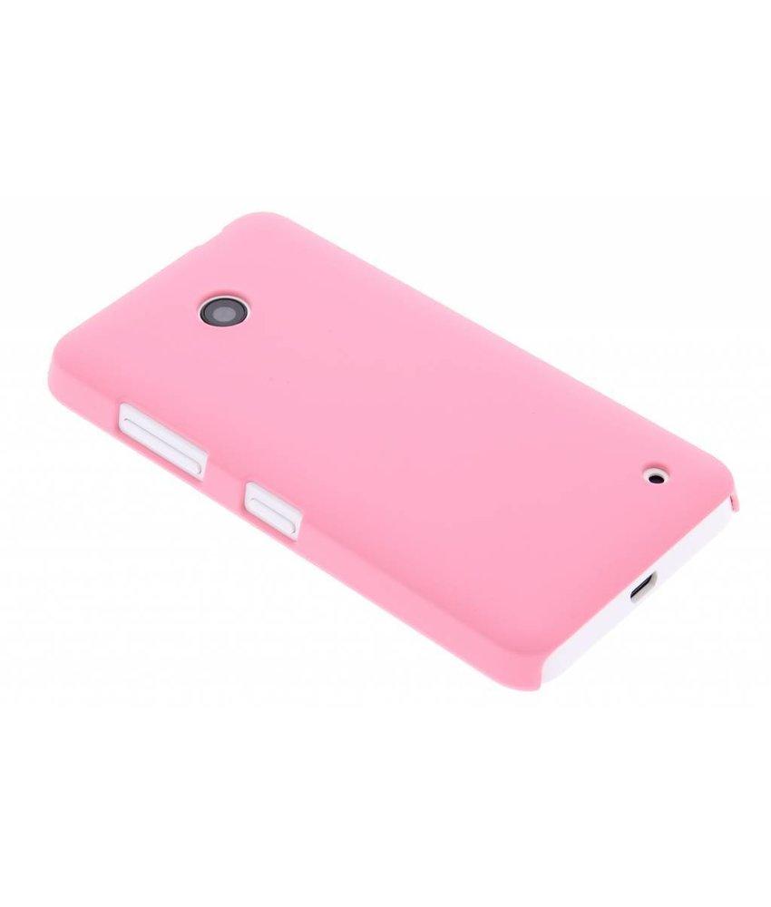 Roze effen hardcase hoesje Nokia Lumia 630 / 635