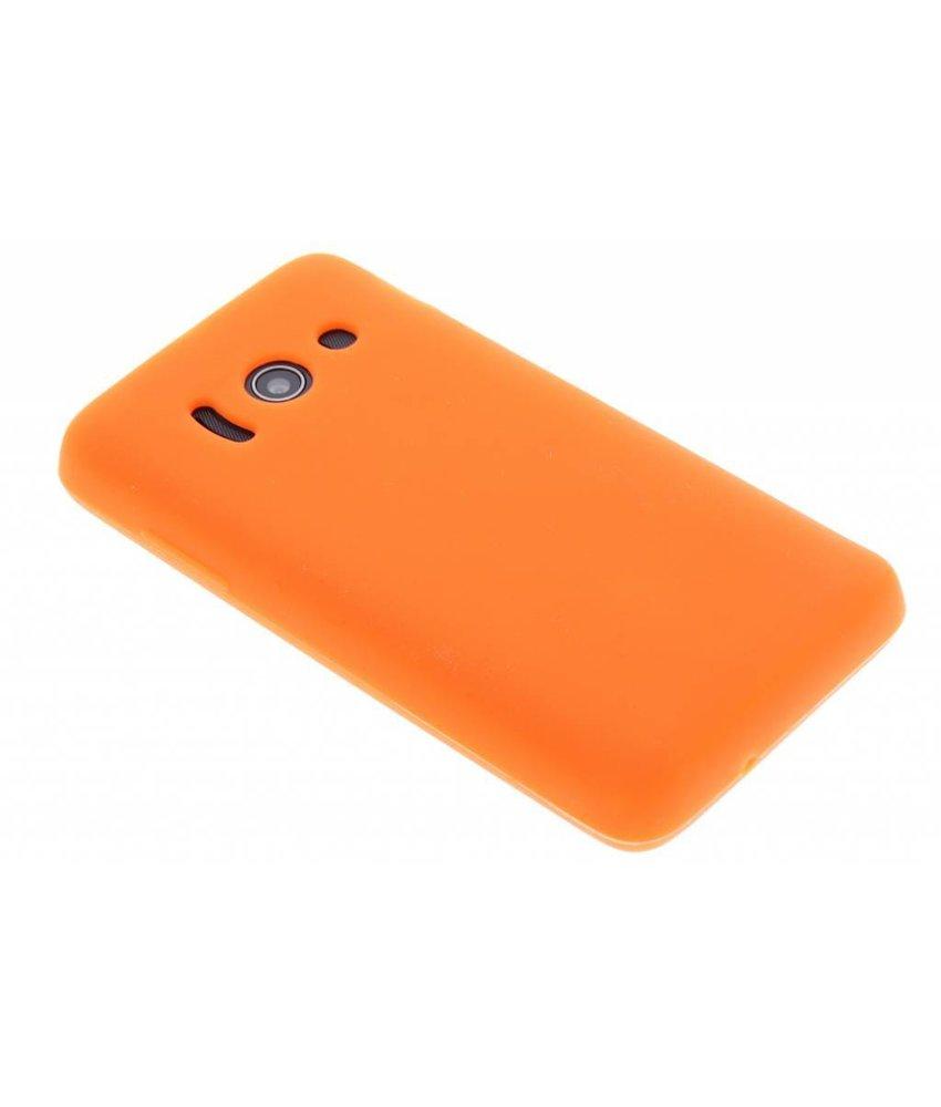 Oranje siliconen hoesje Huawei Ascend Y300