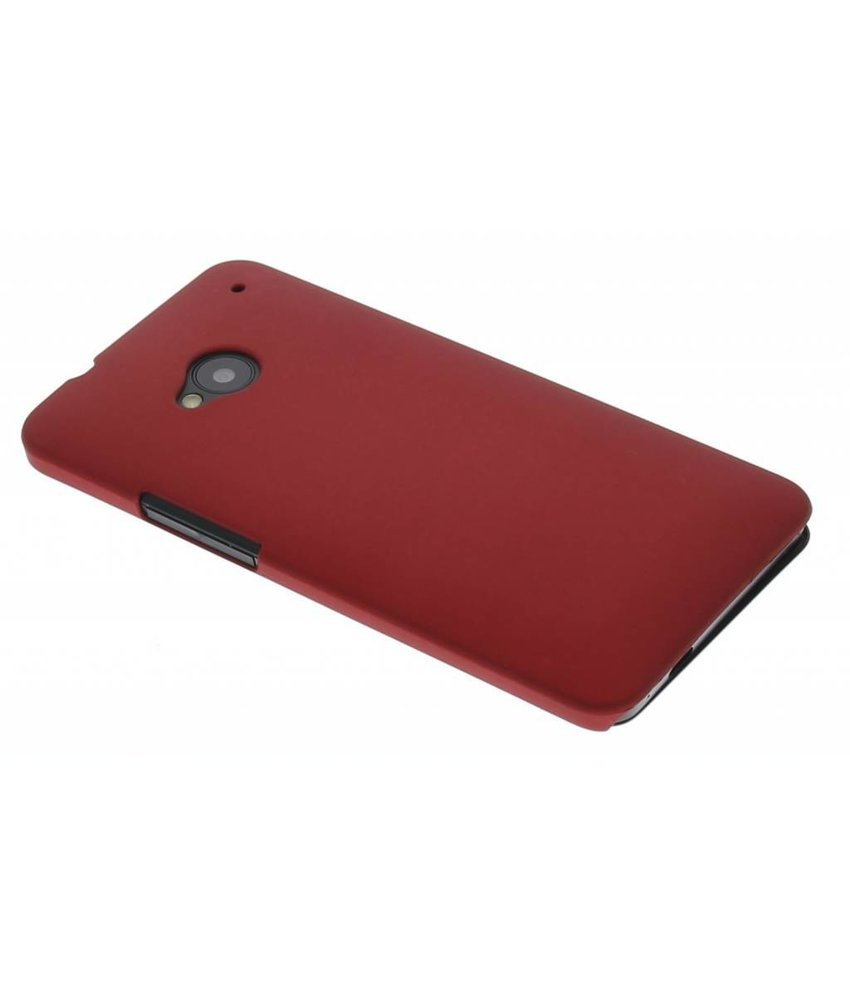 Rood effen hardcase HTC One