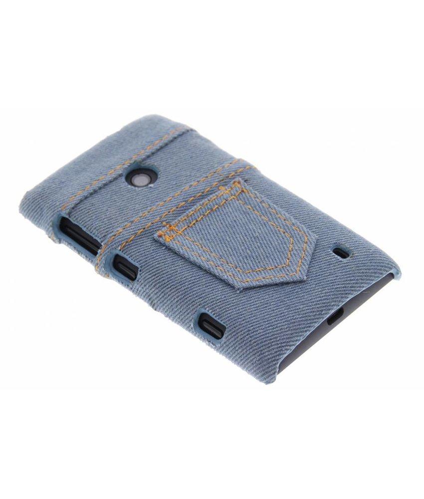 Denim jeans hardcase hoesje Nokia Lumia 520