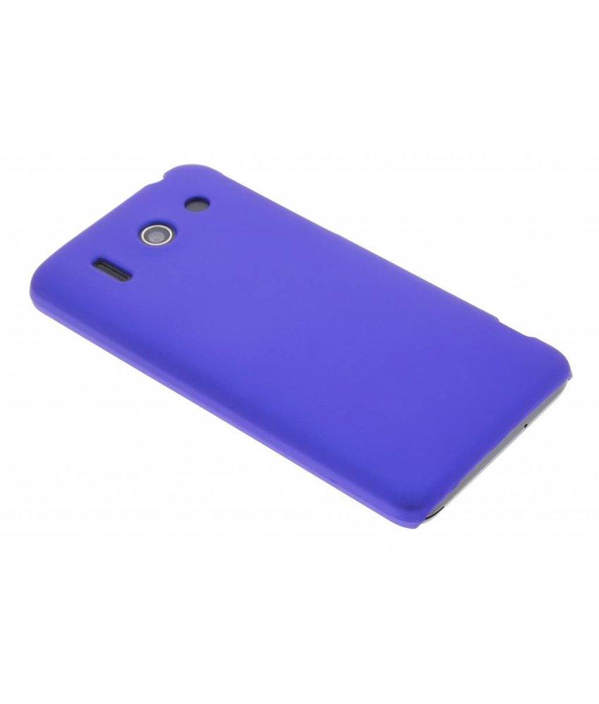 Blauw effen hardcase hoesje Huawei Ascend G510