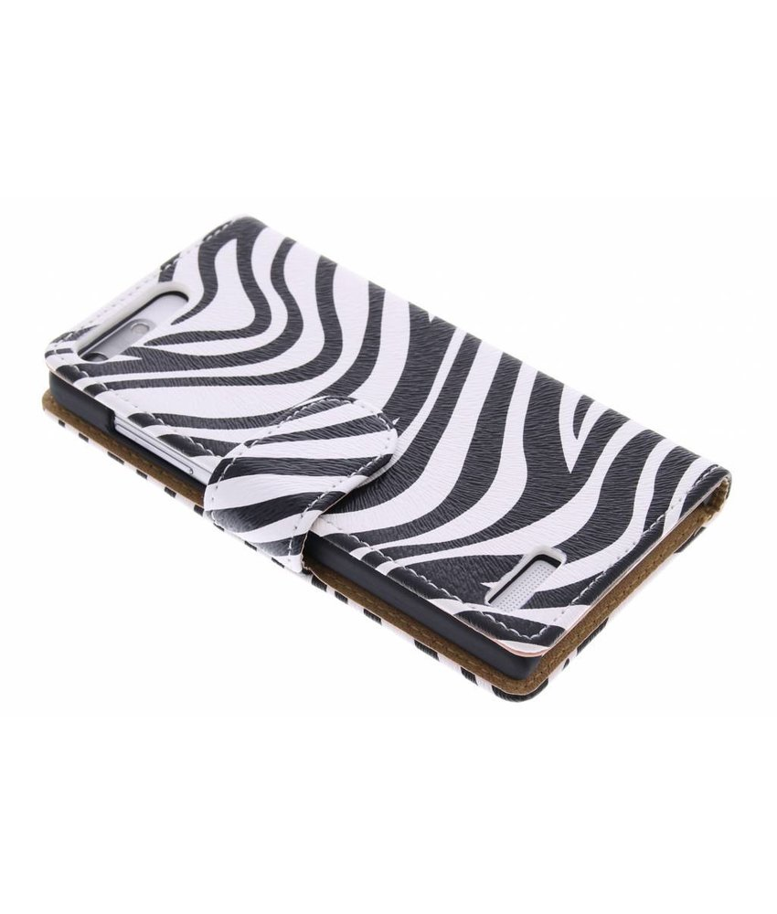 Zebra booktype hoes Huawei Ascend G6
