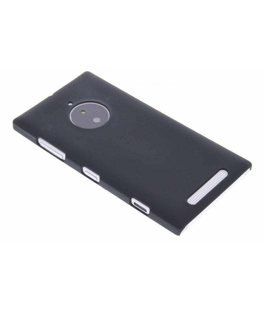 Zwart effen hardcase hoesje Nokia Lumia 830