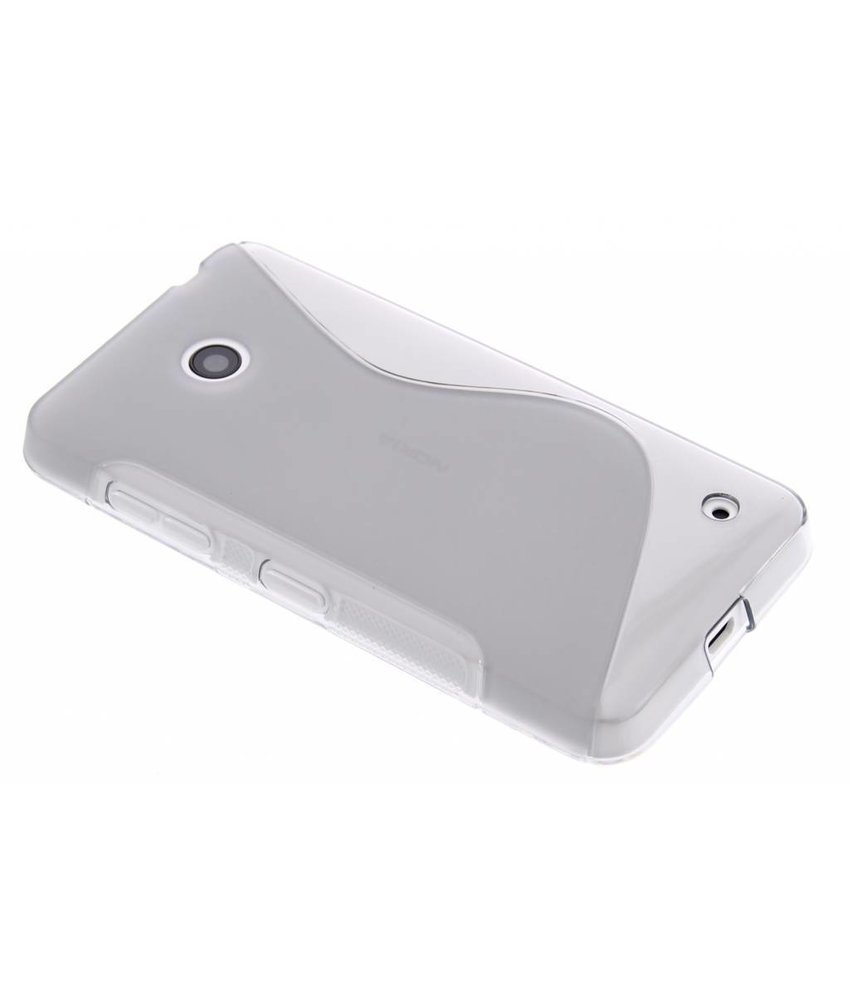 Grijs S-line TPU hoesje Nokia Lumia 630 / 635