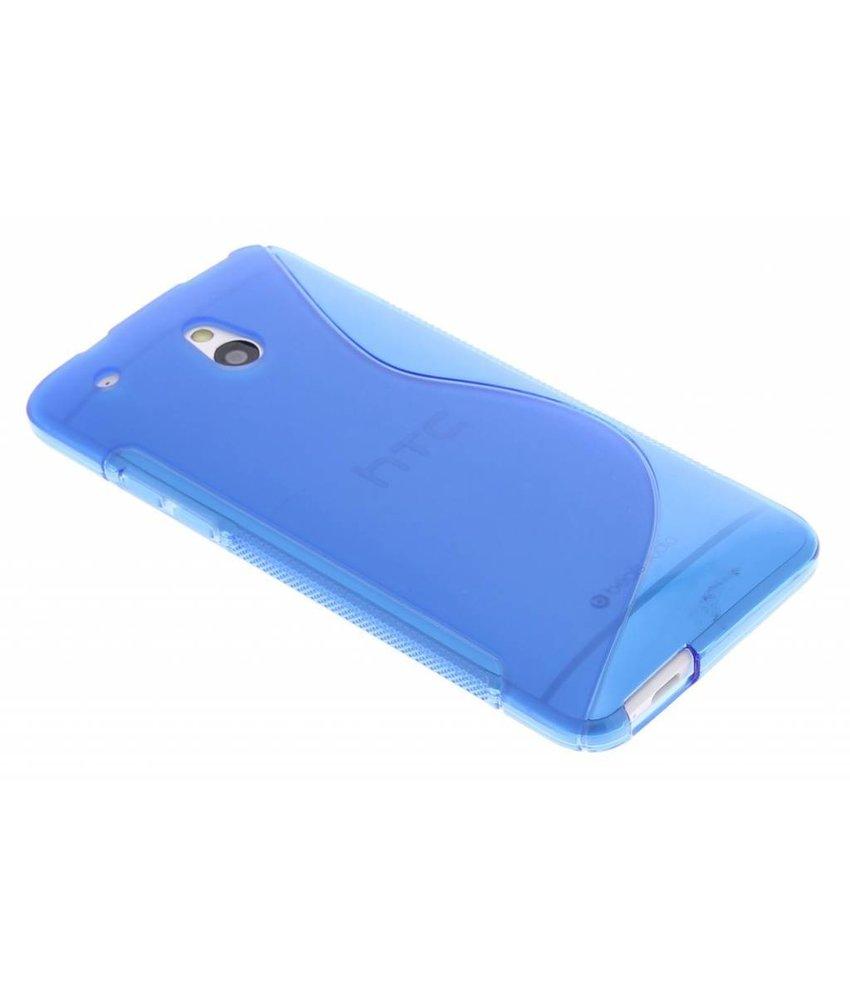 Blauw TPU S-Line hoesje HTC One Mini