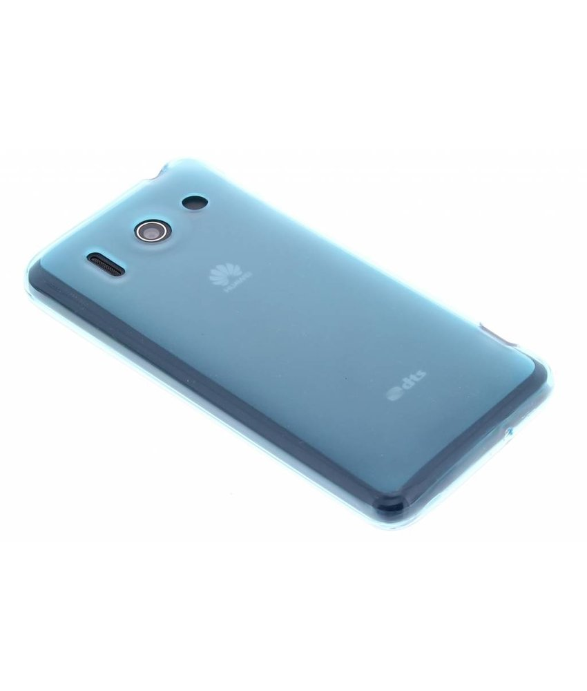 Turquoise hard siliconen hoesje Huawei Ascend G510