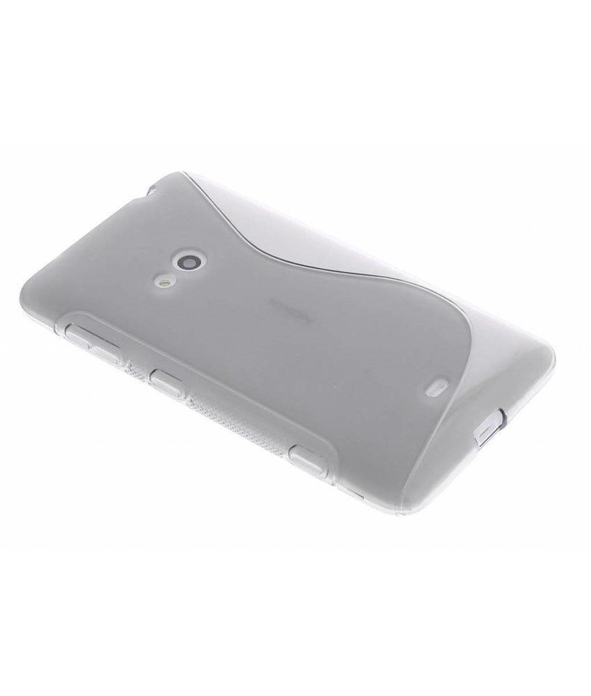 Grijs S-Line TPU hoesje Nokia Lumia 625