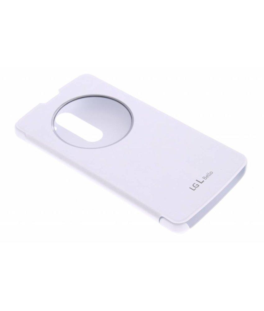 LG Quick Cirlce Case LG L Bello / L80 Plus - wit
