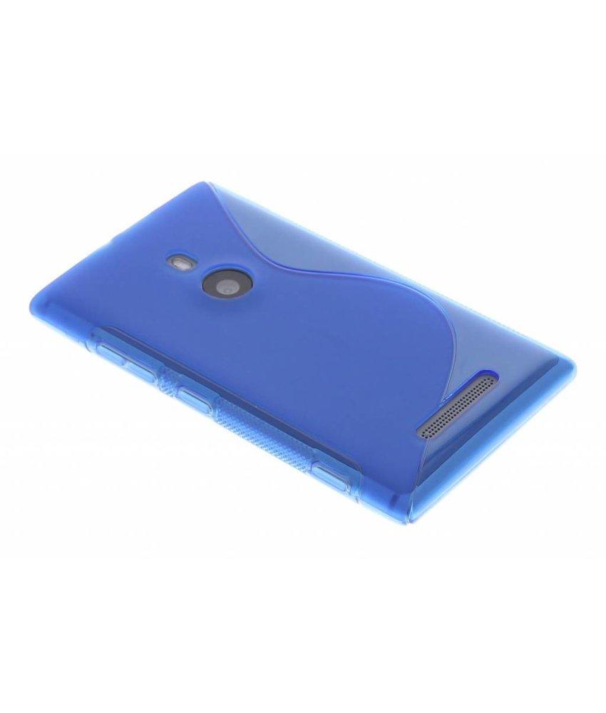 Blauw S-line TPU hoesje Nokia Lumia 925