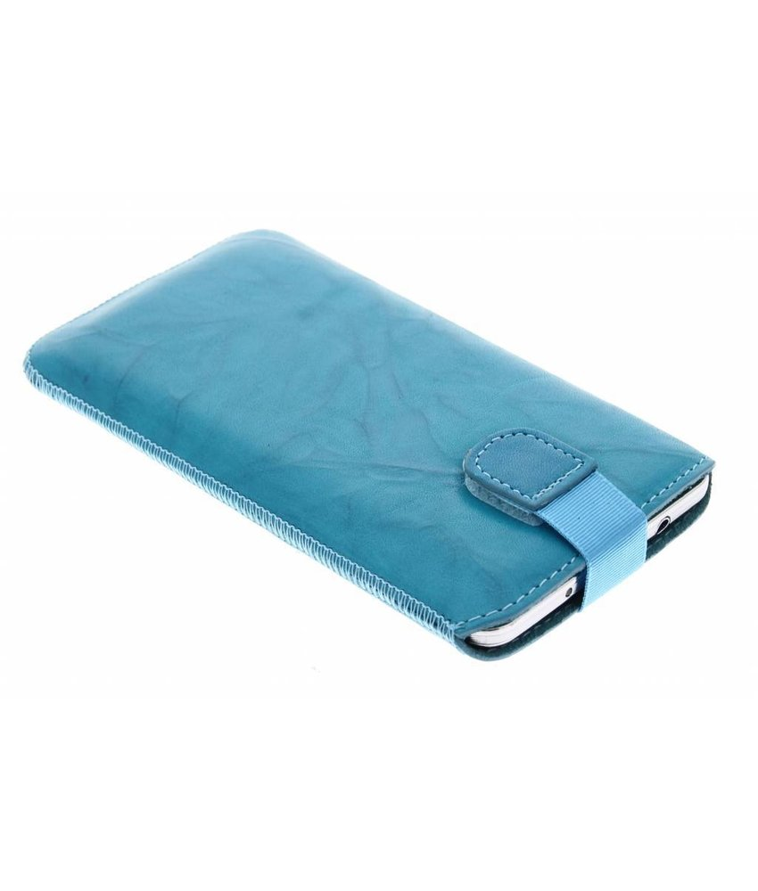 Mobiparts Uni Pouch Smoke maat 4XL - Turquoise