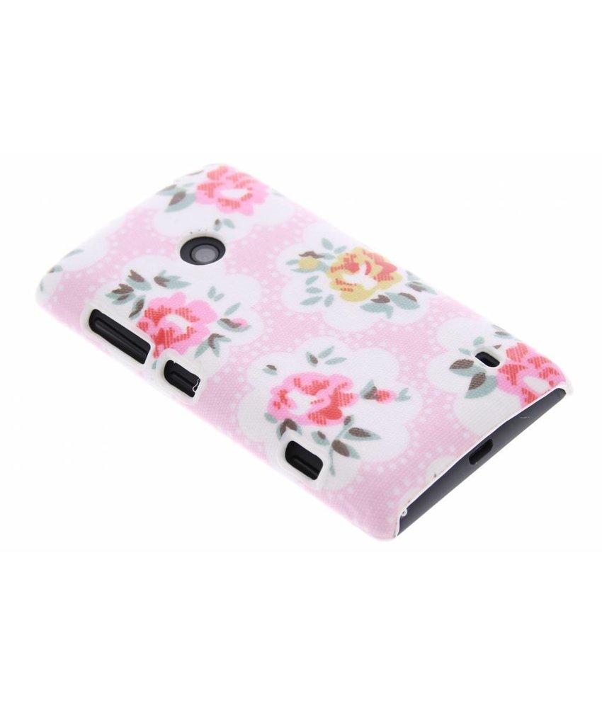 Bloemen design hardcase hoesje Nokia Lumia 520 / 525