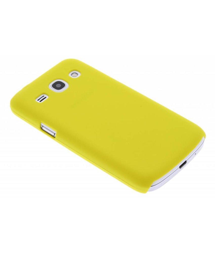 Geel effen hardcase Samsung Galaxy Core Plus