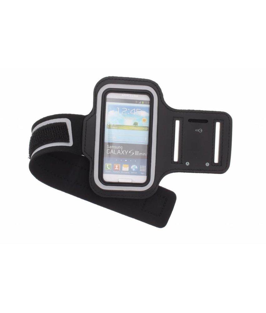Zwart sport armband Samsung Galaxy S3 Mini