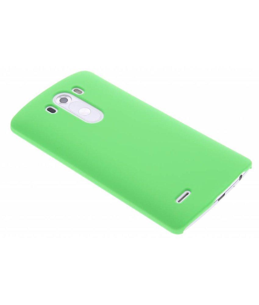 Groen effen hardcase hoesje LG G3