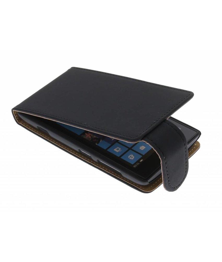 Zwart classic flipcase Nokia Lumia 520