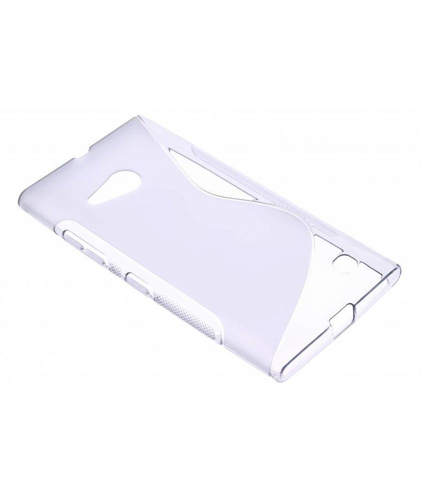 Grijs S-line TPU hoesje Nokia Lumia 730 / 735
