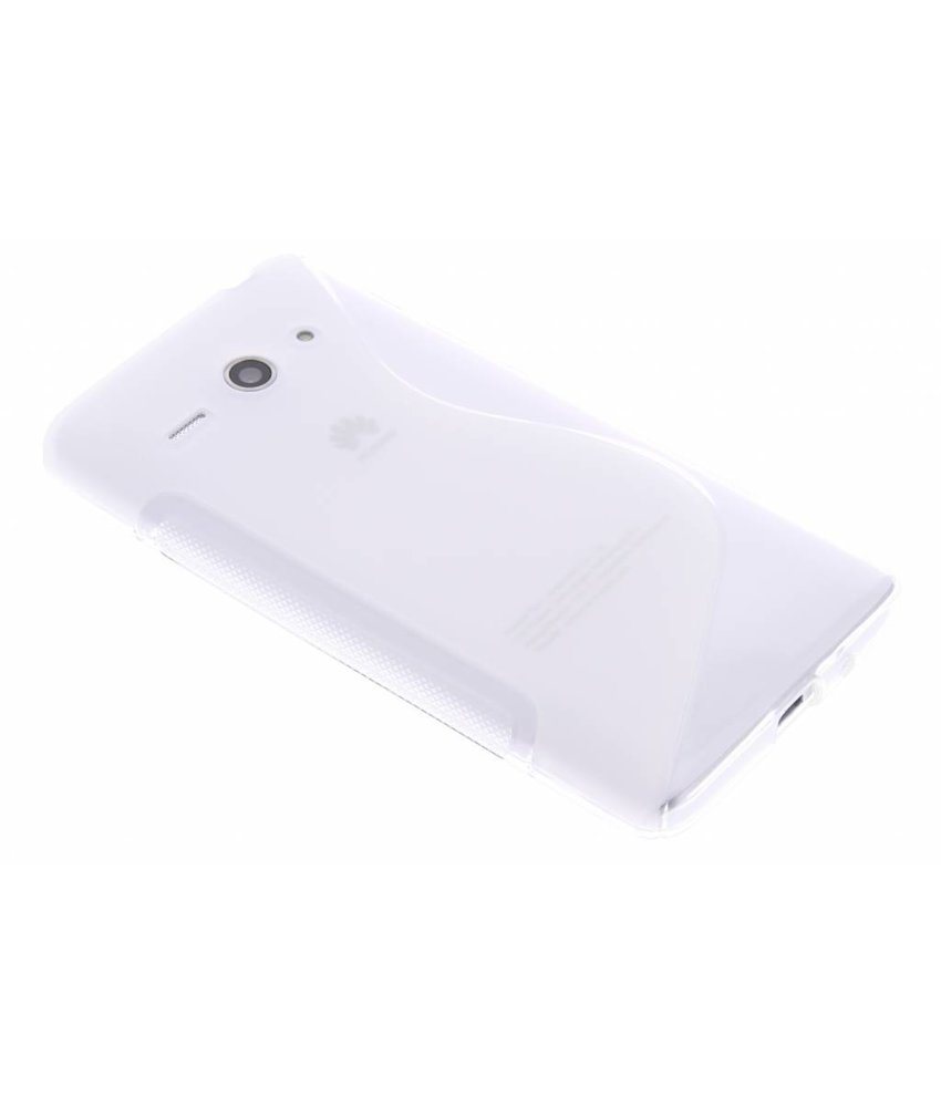 Transparant S-line TPU hoesje Huawei Ascend Y530