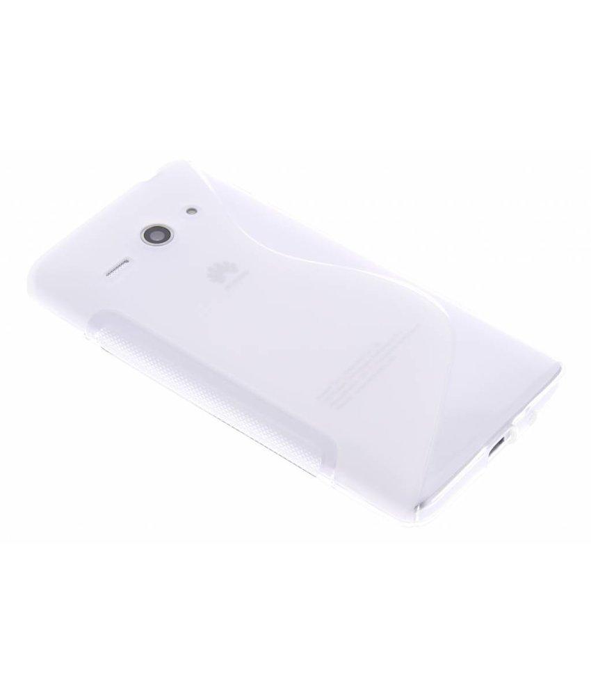 Transparant S-line TPU hoesje Huawei Ascend Y530