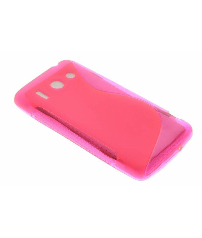 Rosé S-line TPU hoesje Huawei Ascend G510