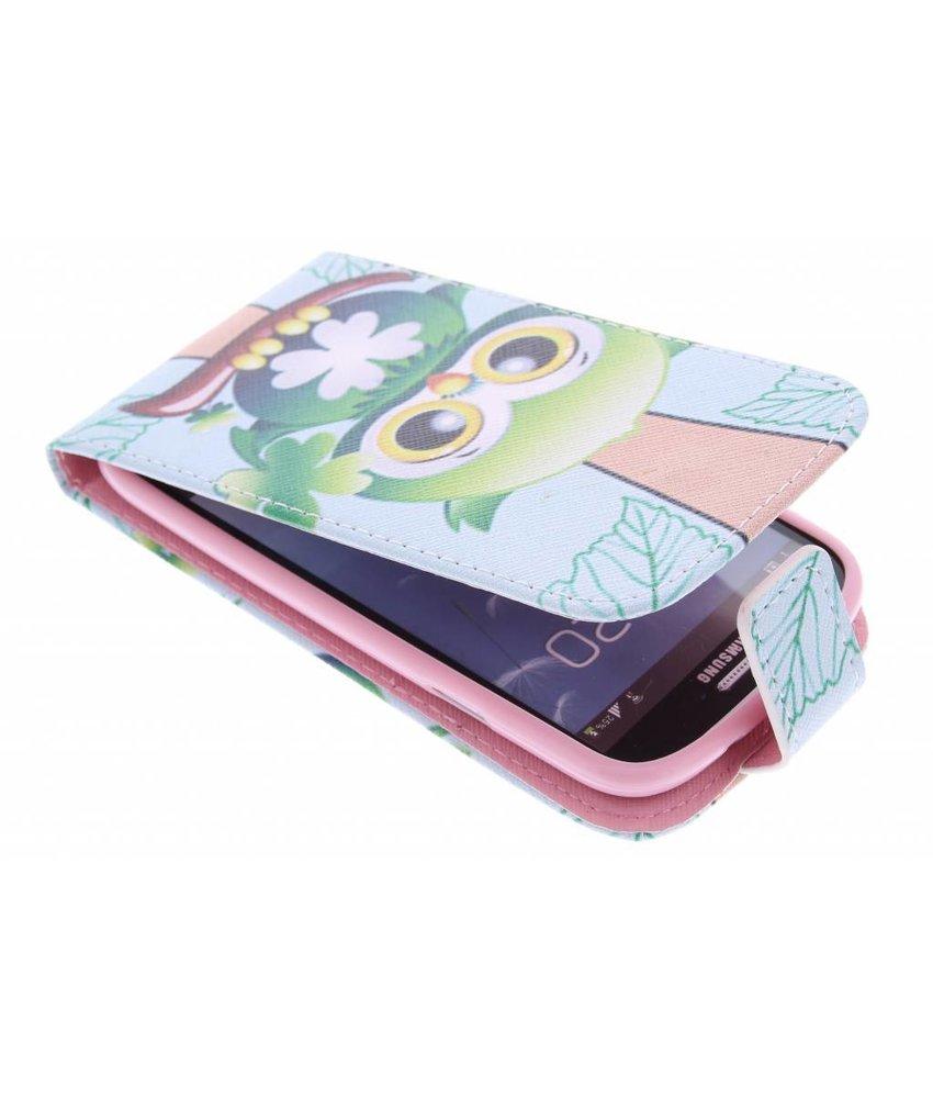 Design TPU flipcase Samsung Galaxy S3 / Neo