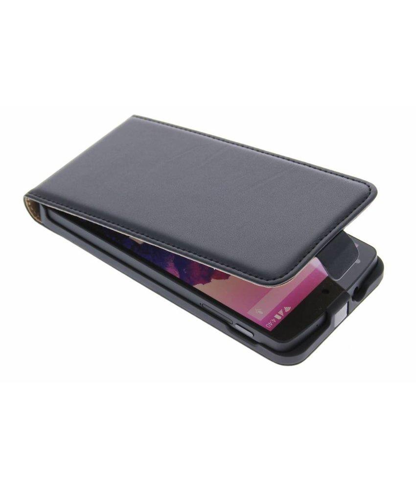 Zwart luxe flipcase LG Nexus 5
