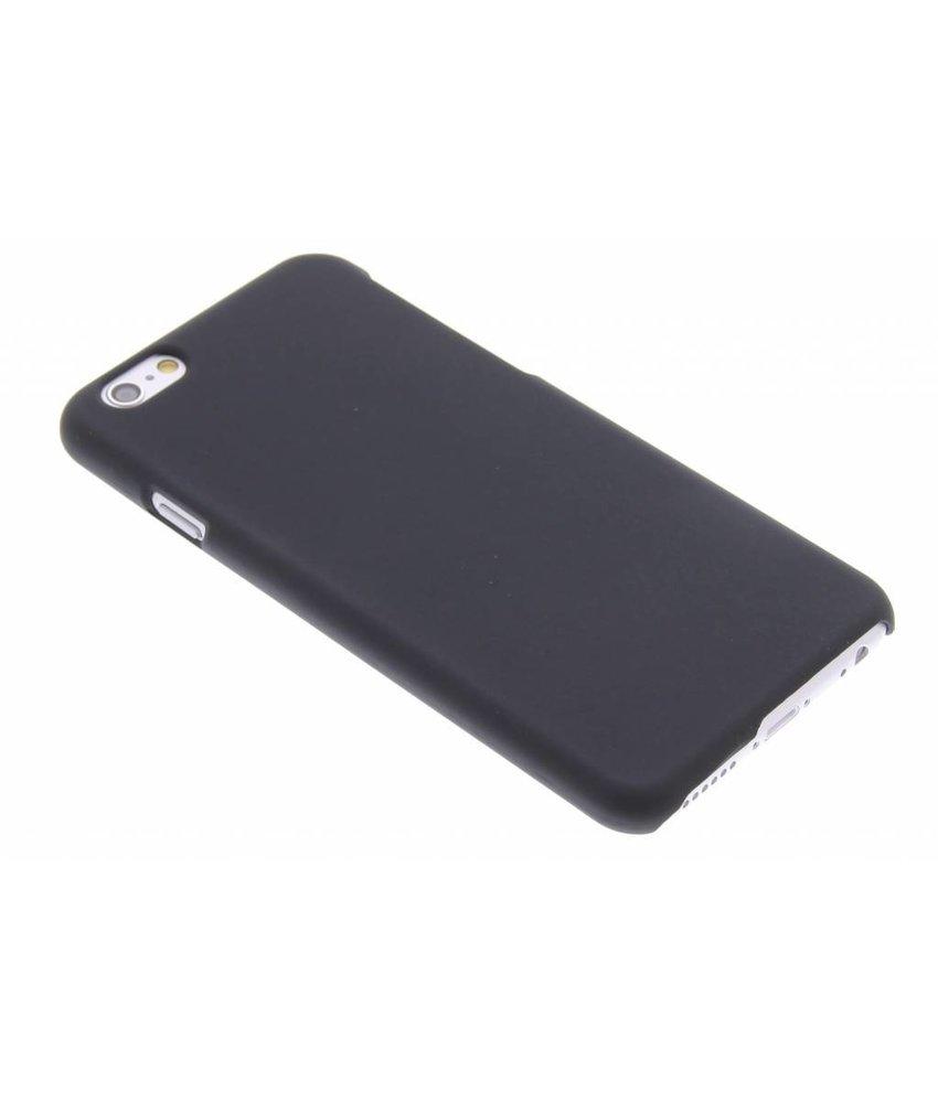 Zwart effen hardcase hoesje iPhone 6 / 6s