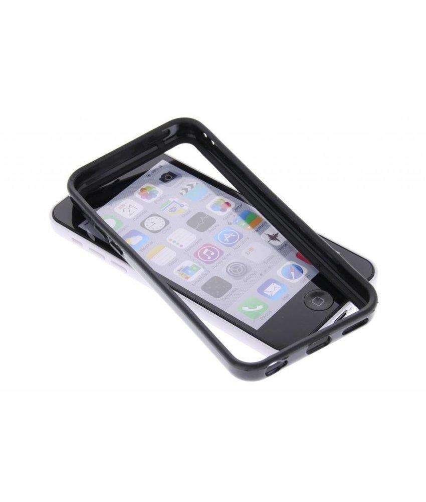 Zwart TPU bumper iPhone 5c