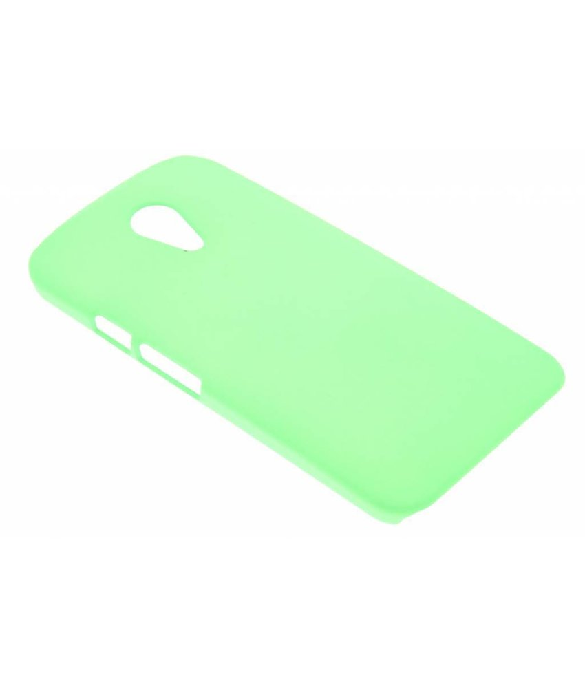 Groen effen hardcase Motorola Moto G 2nd Gen 2014
