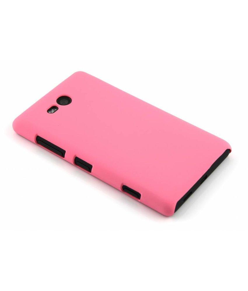 Roze effen hardcase Nokia Lumia 820