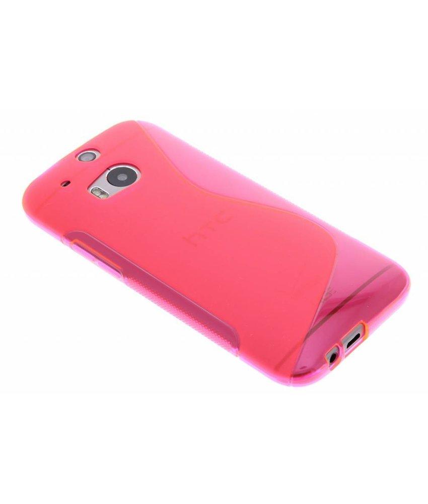 Rosé S-line TPU hoesje HTC One M8 / M8s