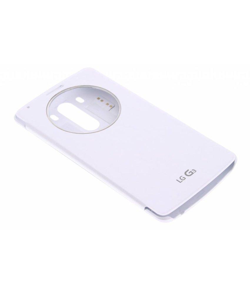 LG Quick Circle Case LG G3 - Wit