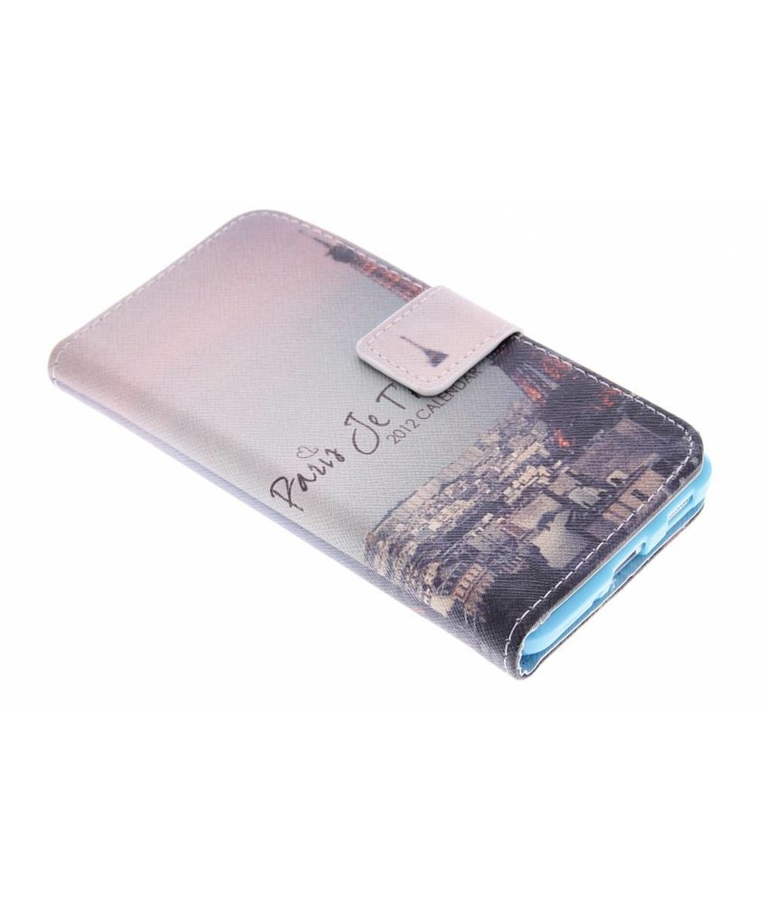 Design TPU booktype Samsung Galaxy Alpha