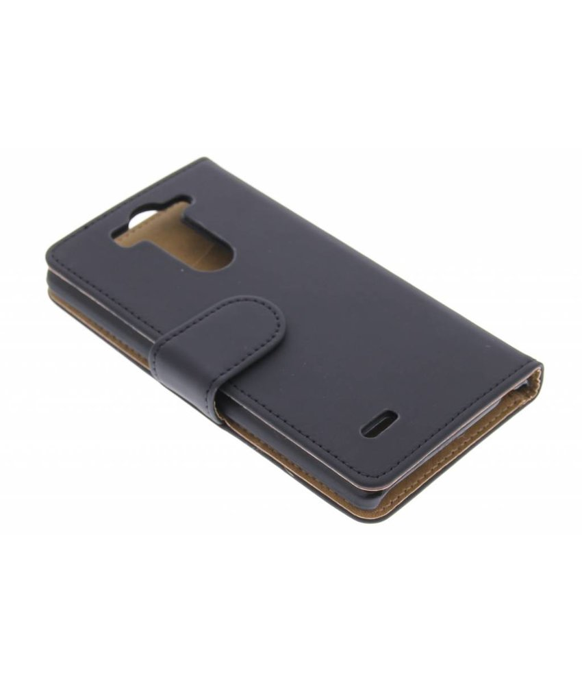 Zwart effen booktype LG G3 S