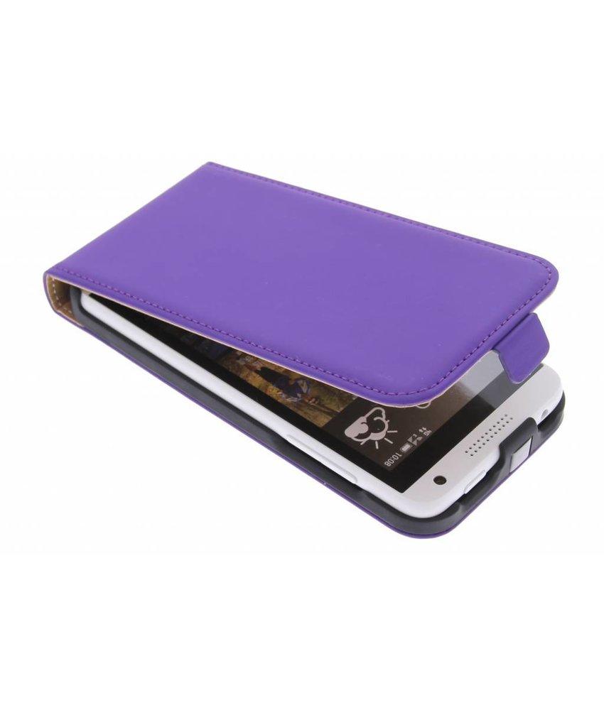 Mobiparts Premium flipcase HTC Desire 610 - Purple